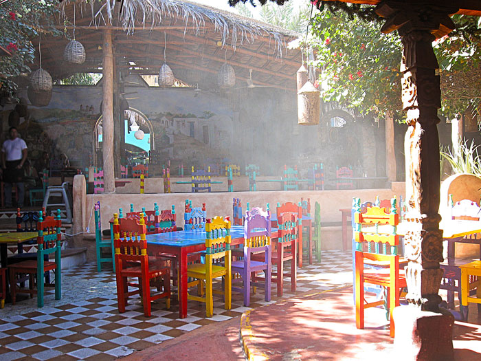 Mi Casa Restaurant Patio in Cabo San Lucas, Travel, Vacation