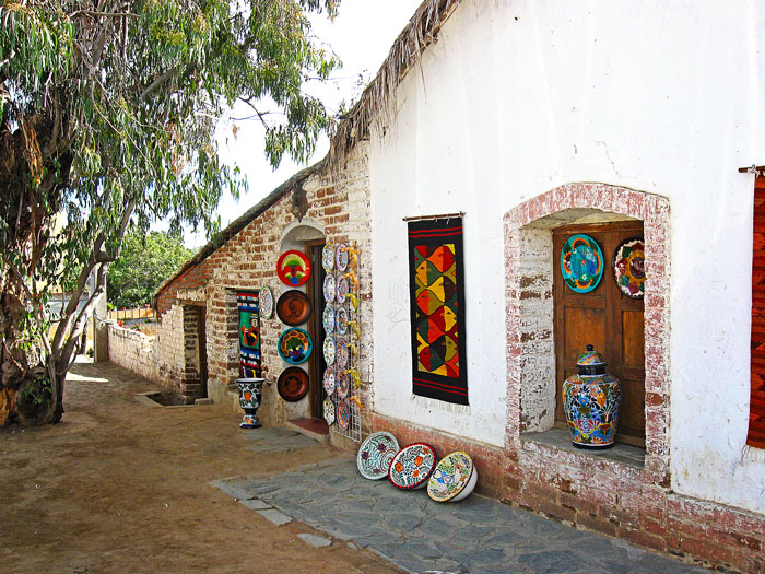 Pottery Studio in Todos Santos, Mexico, travel for vacation
