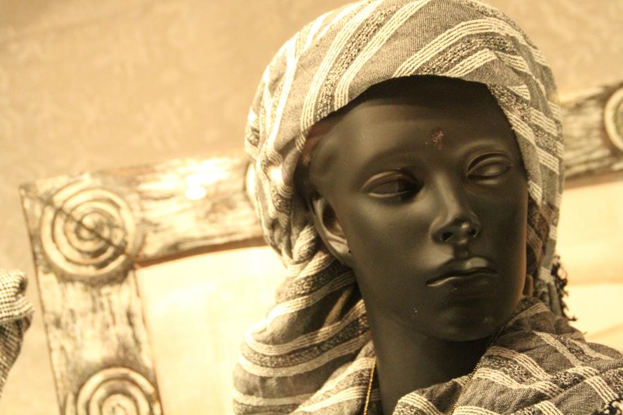 storefront mannequin, santa barbara, california
