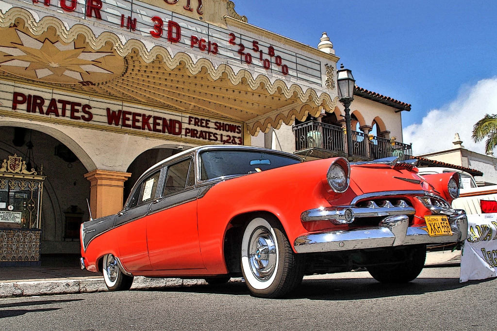Classic Car And Hot Rod Show, Santa Barbara, California, Travel, Vacation
