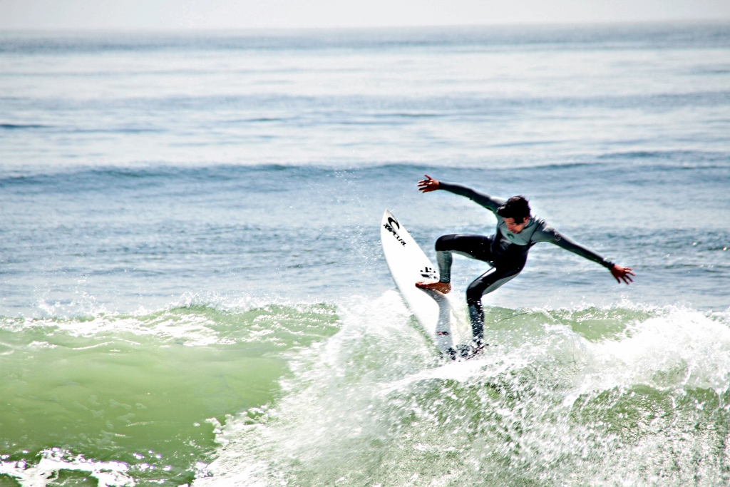 Rincon Surfing, Carpinteria California, Santa Barbara, Surf, Travel, Vacation by Julie Miche