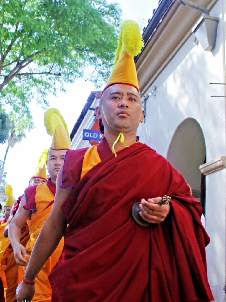 Buddhist Monks, Santa Barbara, California, Travel, Vacation