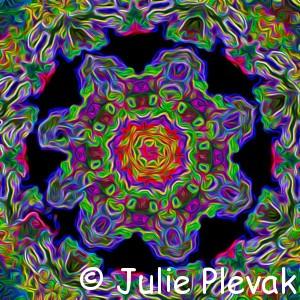 Mandala Art, Mandala Gallery, Gallery Store, Julie Plevak
