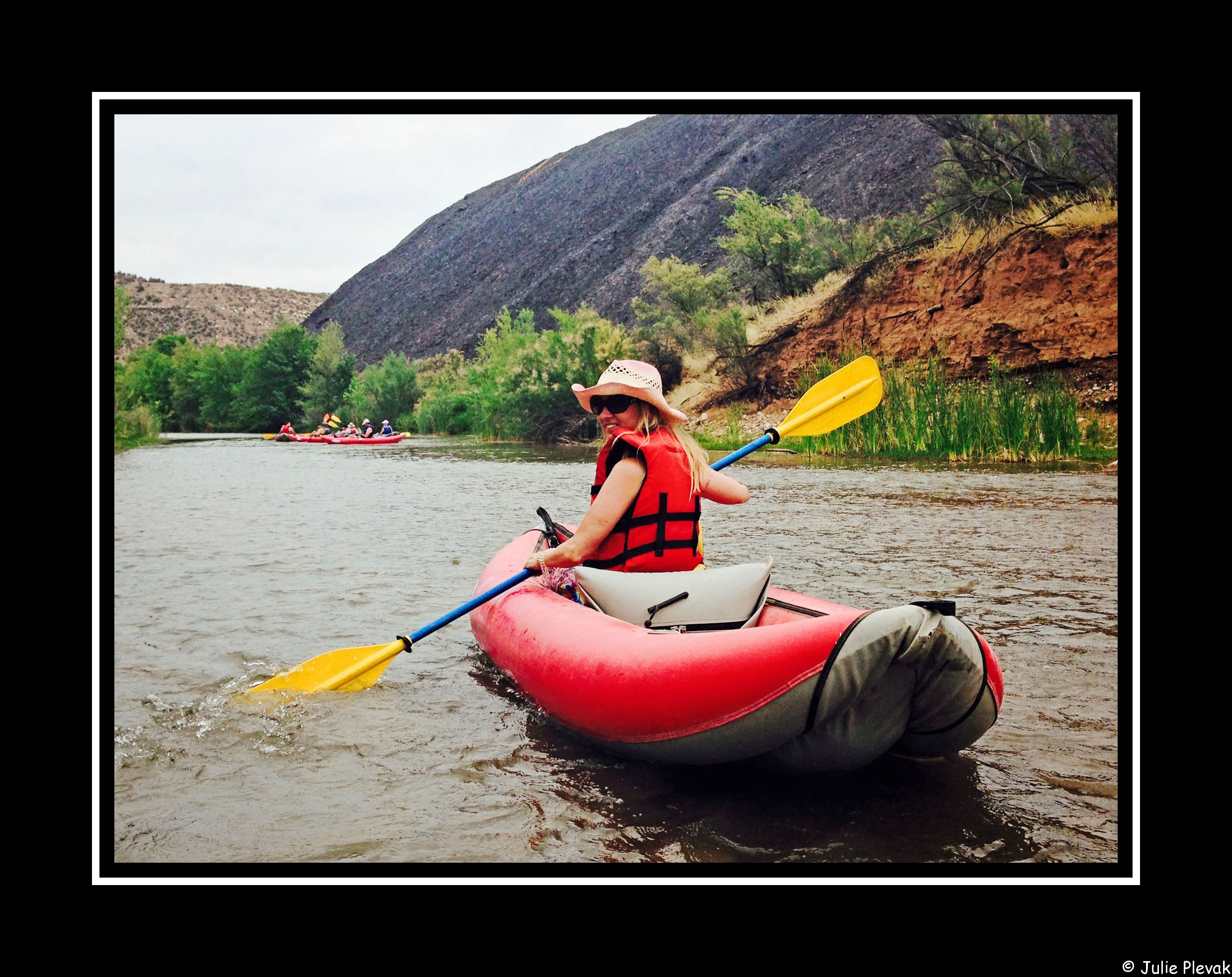 Verde River Kayaking, Sedona, AZ, Sedona Adventure Tours, Kayak, Travel, Julie Plevak