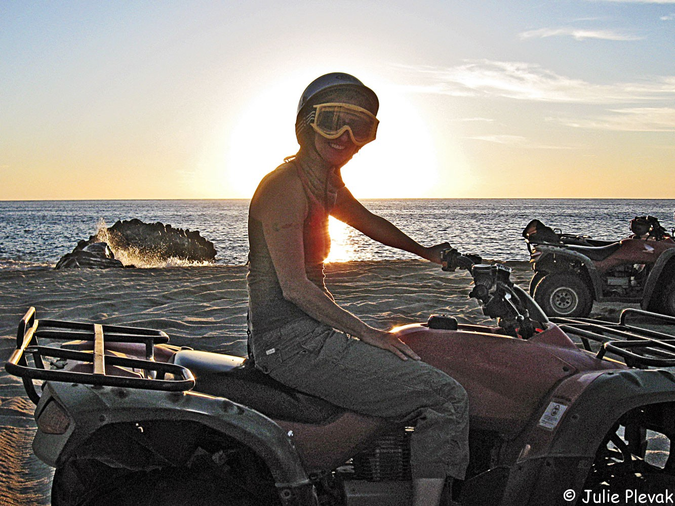 Cabo San Lucas, ATV ride on the beach, Mexico
