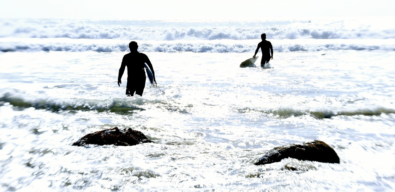 Rincon surfers, California, travel, surf