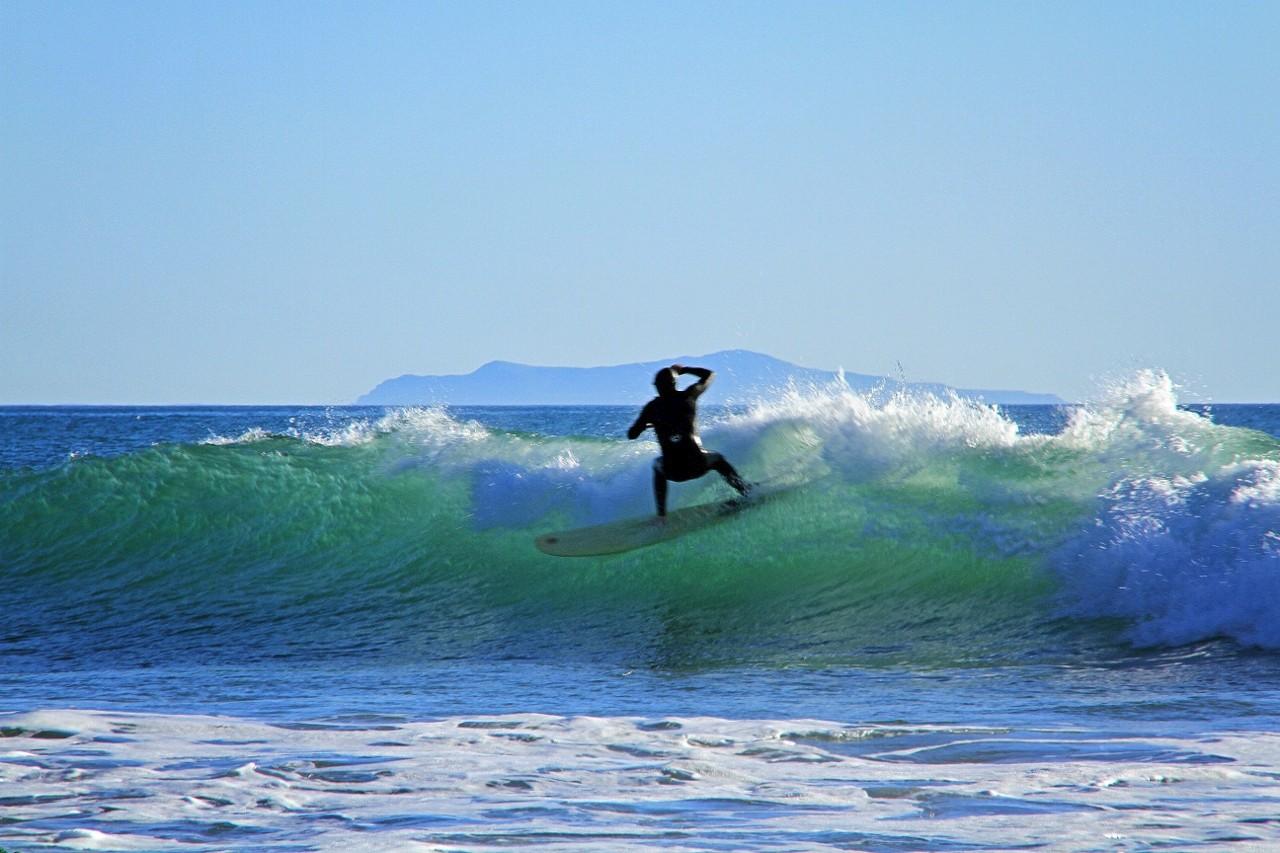Rincon surfing, surf, California, travel, big waves to surf
