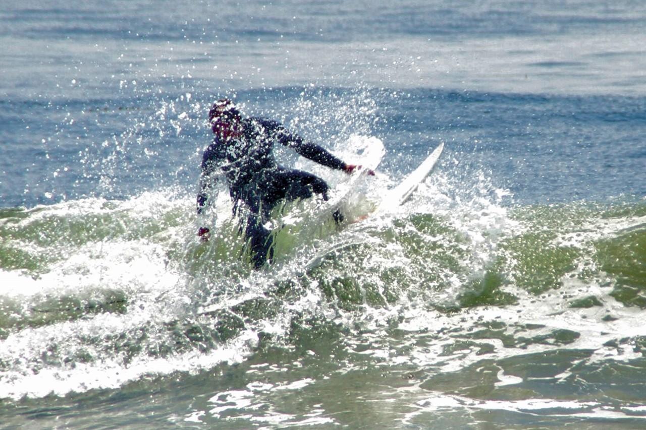 Surfing in Rincon, Carpinteria, California, surf, travel, Vacation