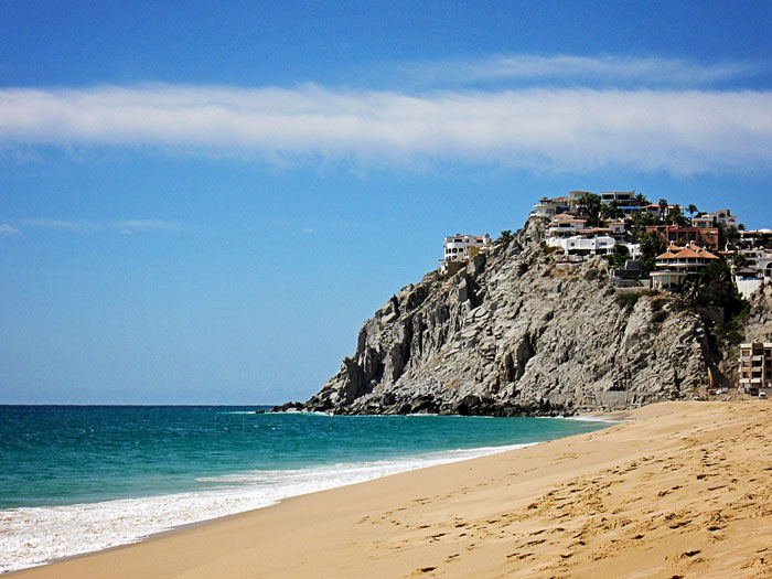 Cabo San Lucas beach at Playa Grande