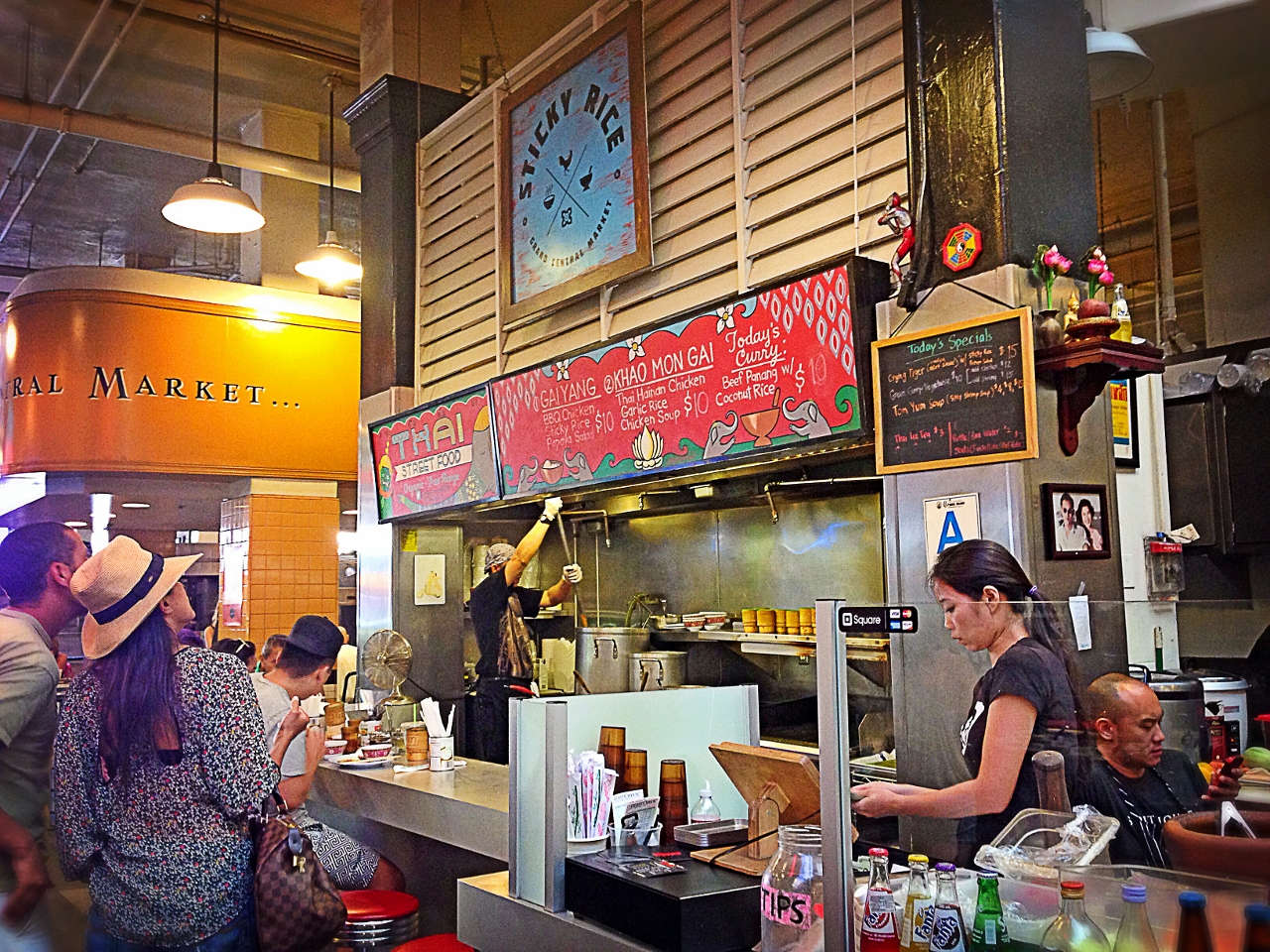 Day Trip to restaurant in Los Angeles Grand Central Market by Julie Miche travel blogger