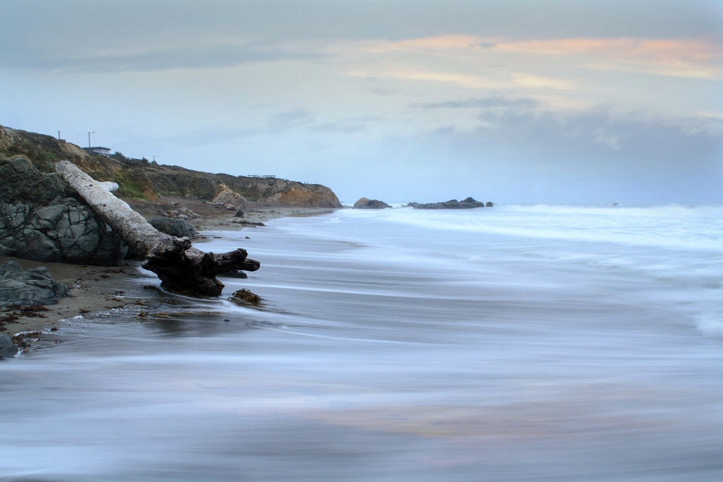 Moonstone Beach, Cambria, CA Coast