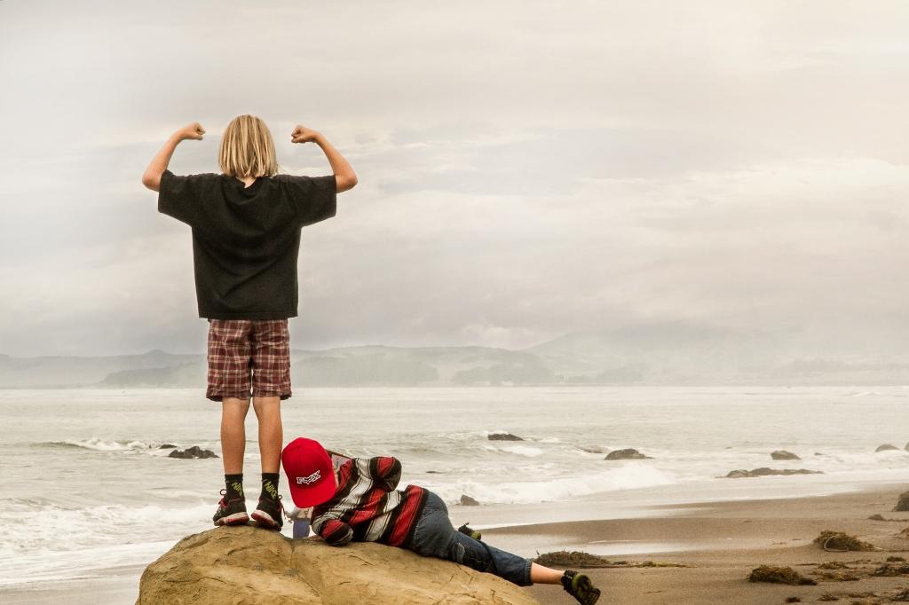 children participate in eco tourism in Cambria, CA