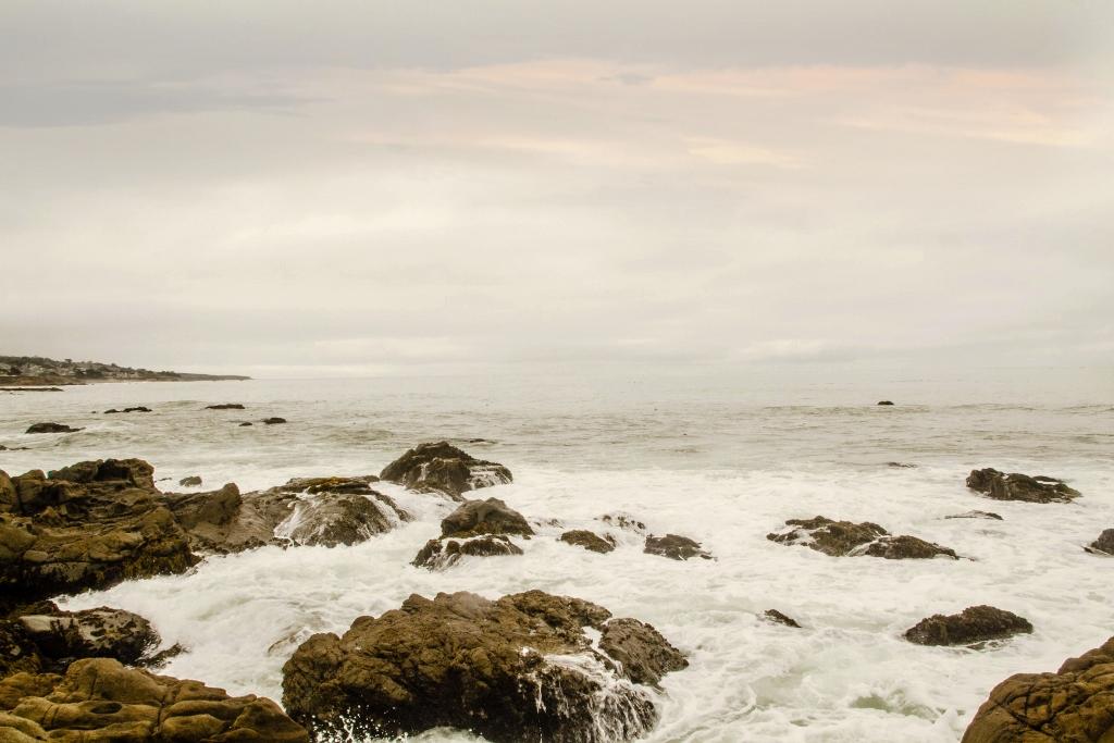 Cambria, CA, Travel in California, Moonstone Beach
