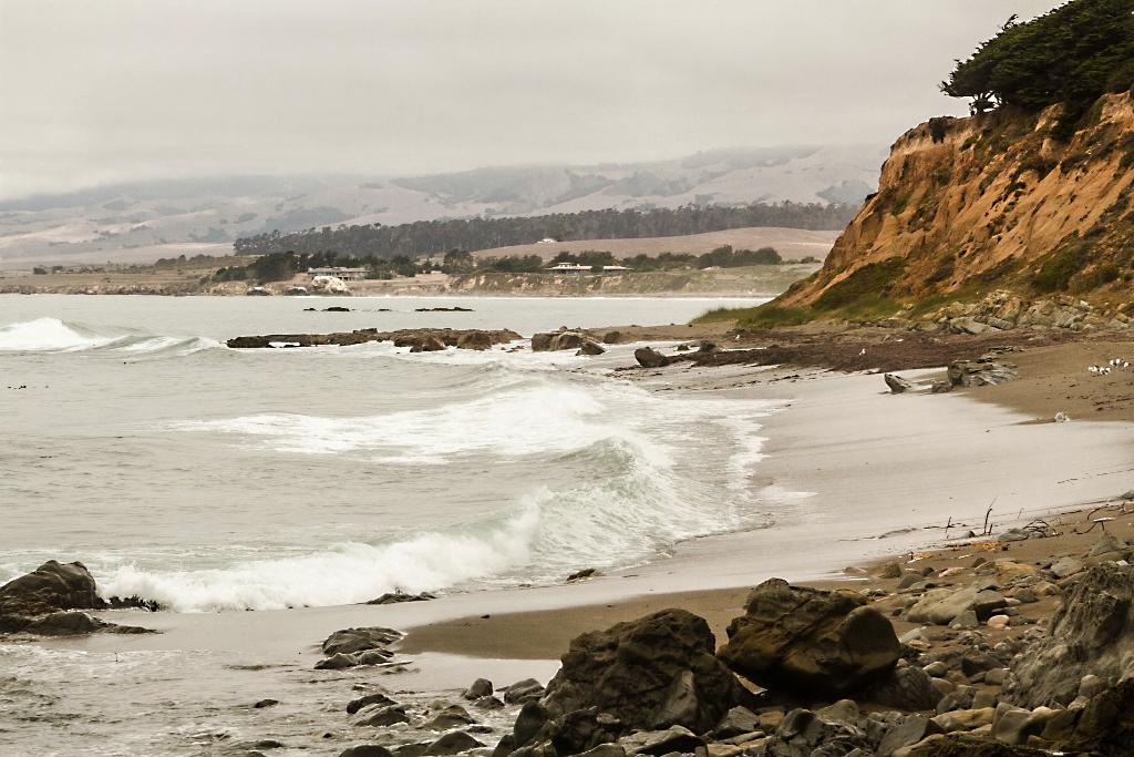 Travel in California, Cambri Coastline
