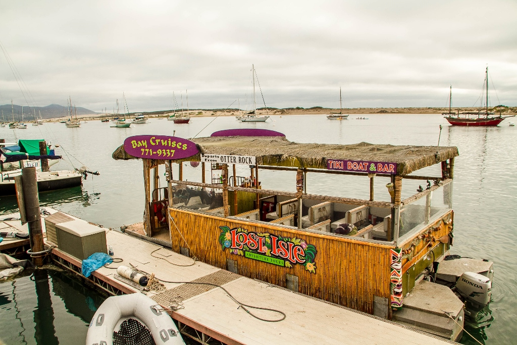 Tiki boat cruise on Morro Bay, Travel in California