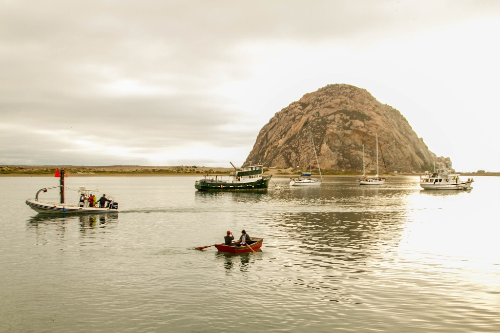 traveling in Morro Bay, Morro Rock, California Travel