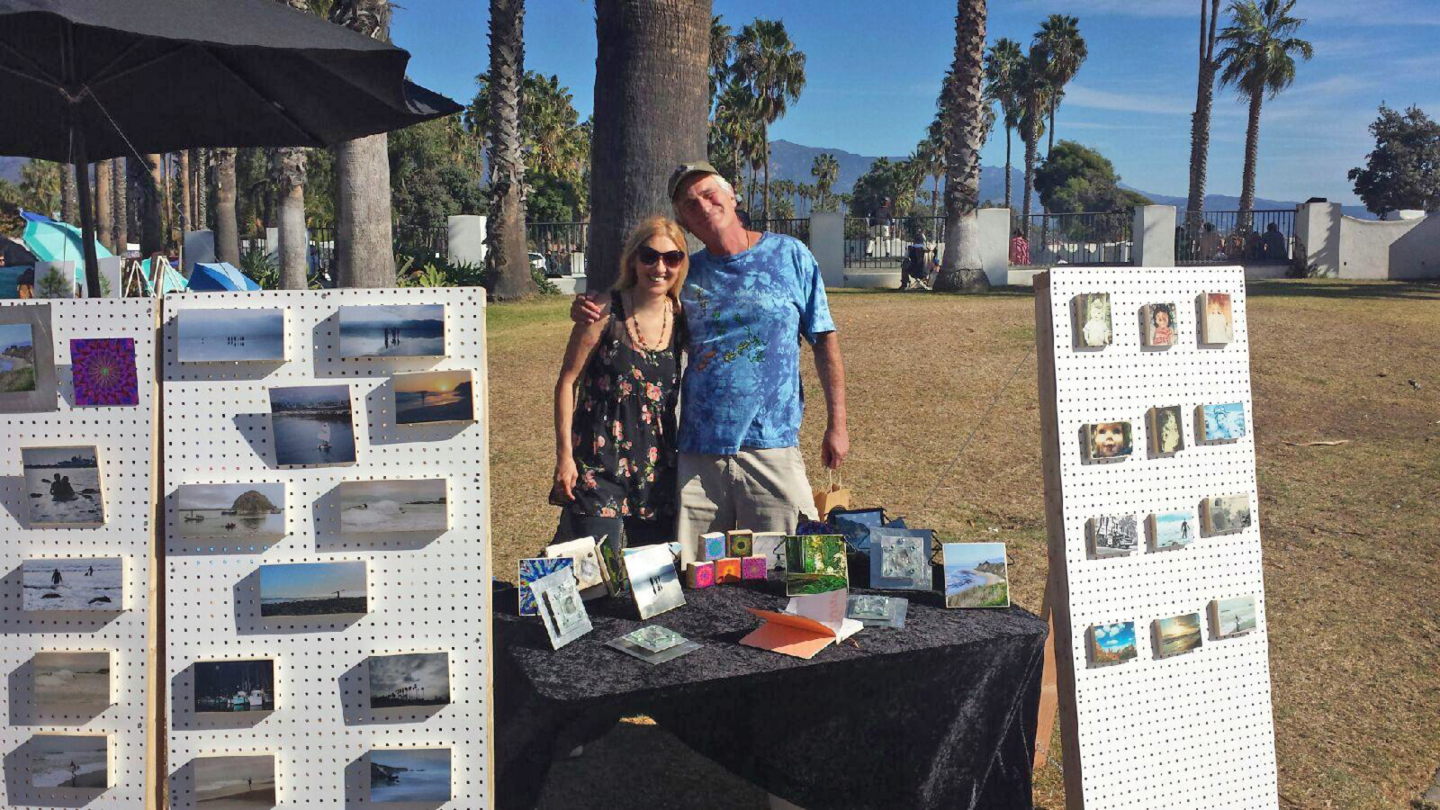 Santa Barbara Art Show on the beach