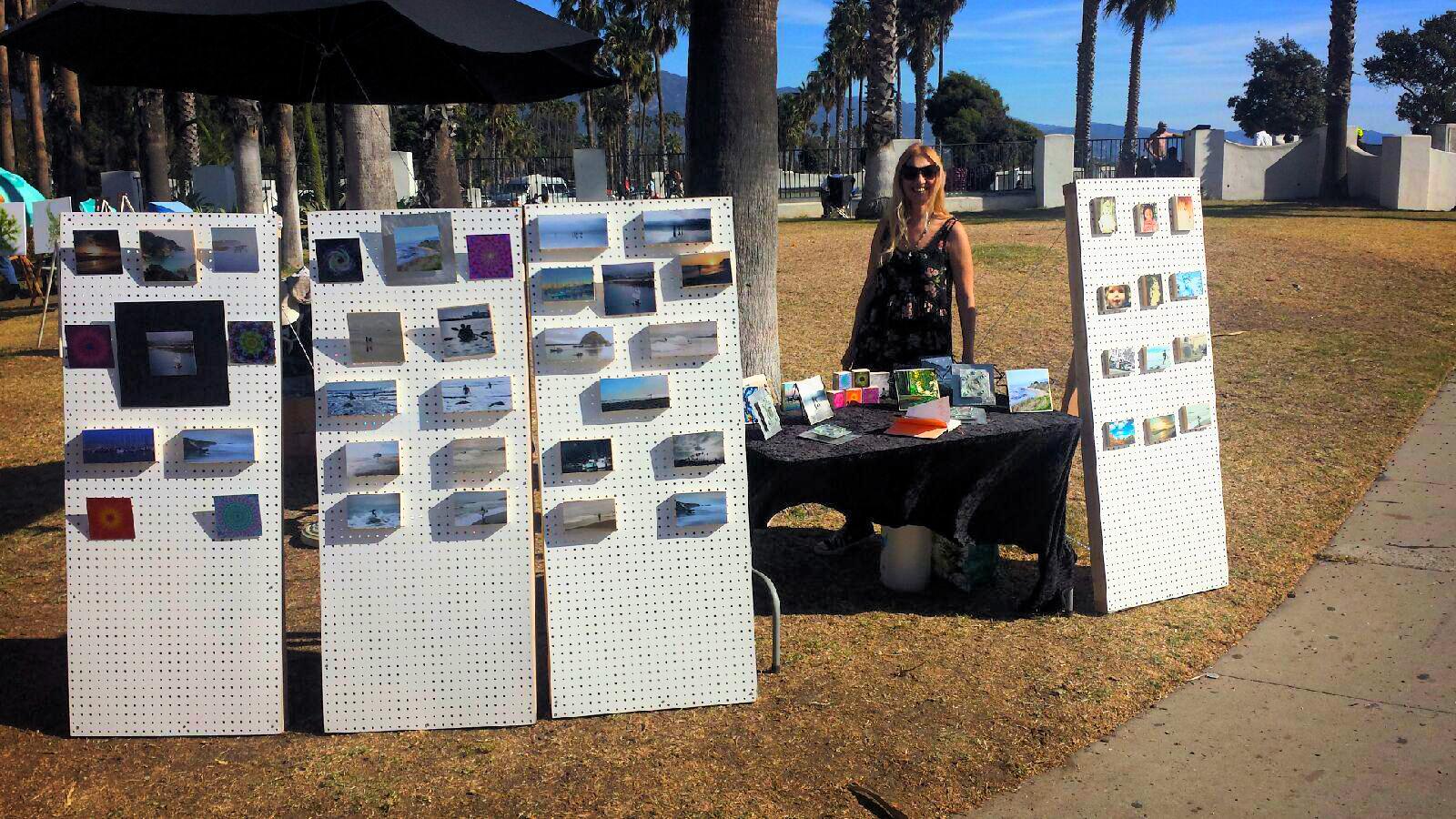 Julie Plevak art Santa Barbara Beach show