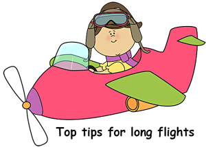 Flying tips for a long flight, Top Tips For Long Flights