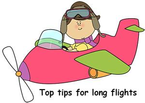 Flying tips for a long flight, Top Tips For Long Flights