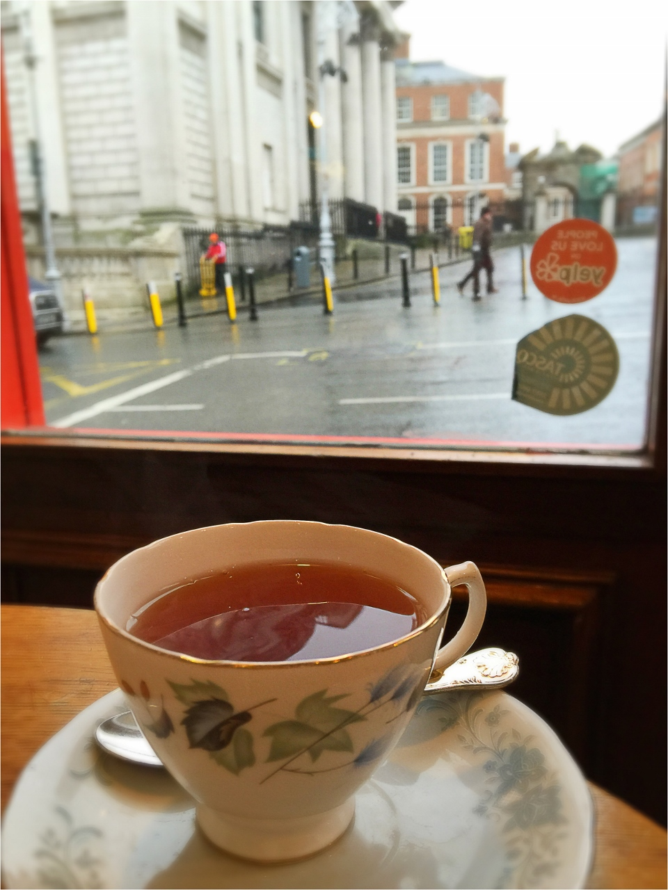 Queen of Tarts, Dublin Ireland, Tea