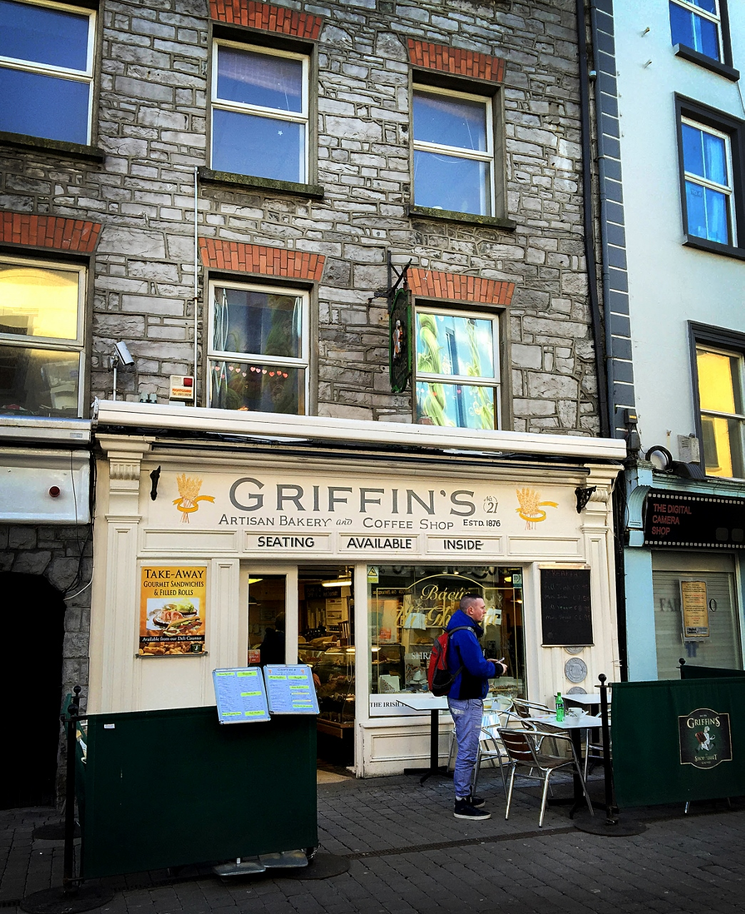 Bakery in Galway Ireland Griffin's by Julie Miche travel blogger
