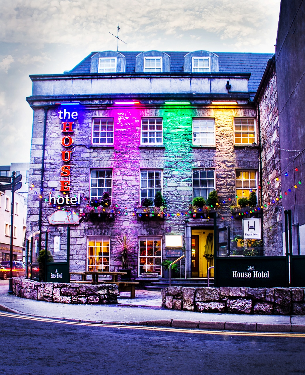 House Hotel in Galway Ireland  by Julie Miche Travel Blogger