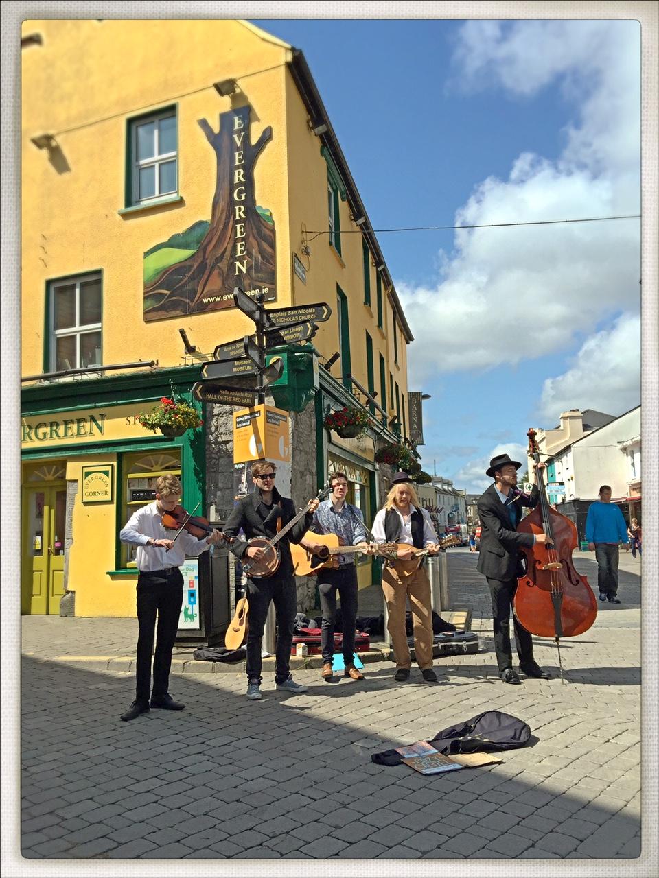 Galway, Ireland Buskers