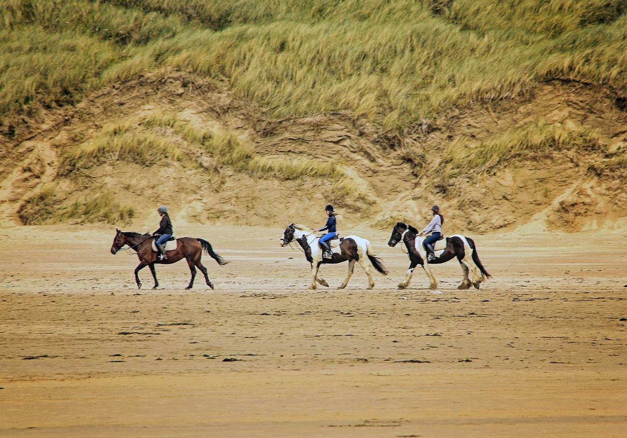 Things to do in Bundoran, Ireland Go horseback riding by Julie Miche