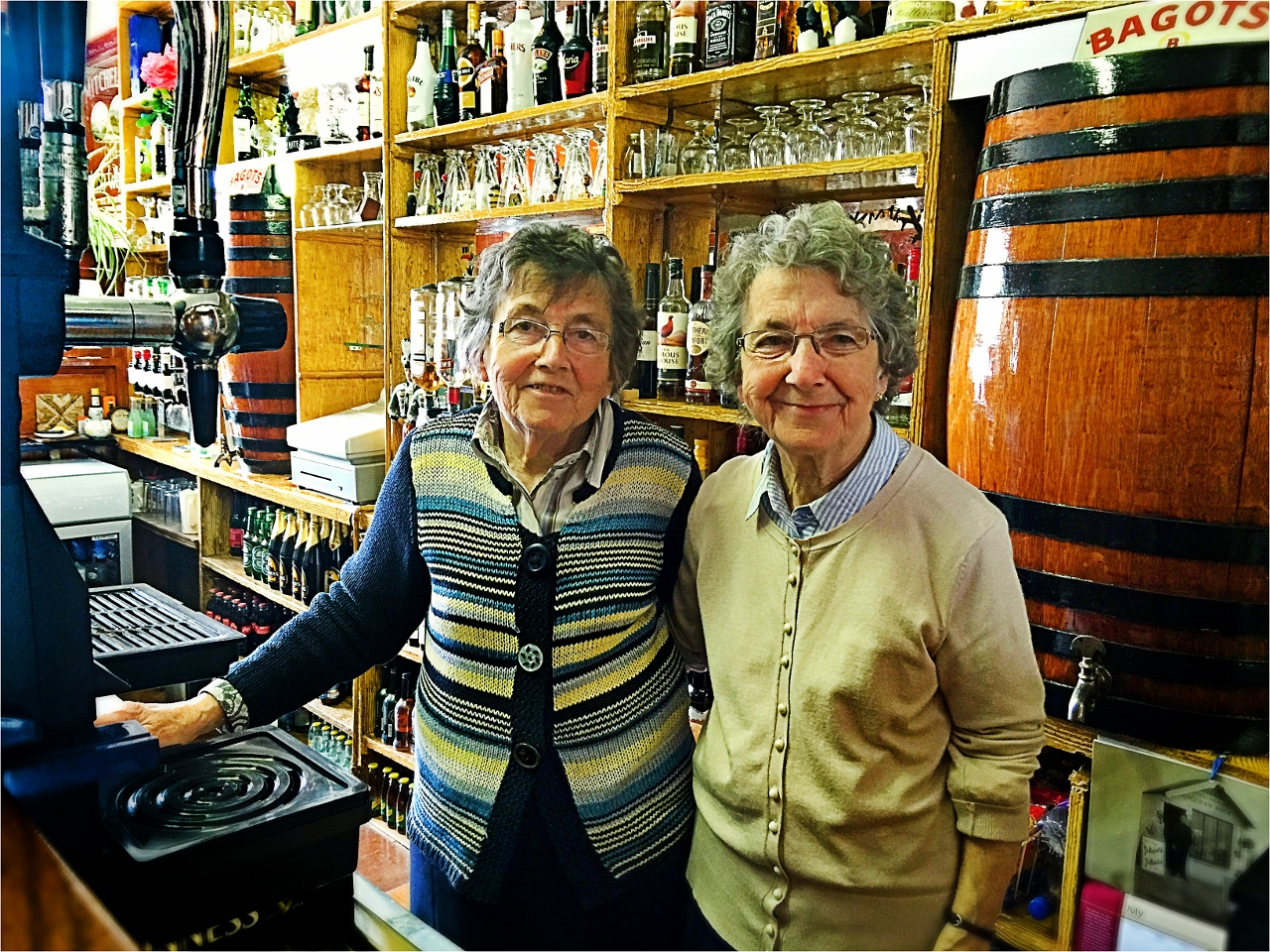 Brennan's Criterion Bar, Nan & Patricia by Julie Miche