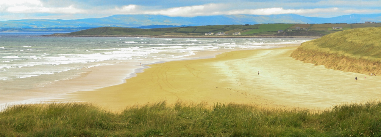 Tullan Strand is great for surfing or a stroll on the beach. Things To Do In Bundoran, Ireland by Julie Miche