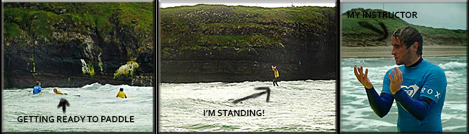 Bundoran, Ireland surfing