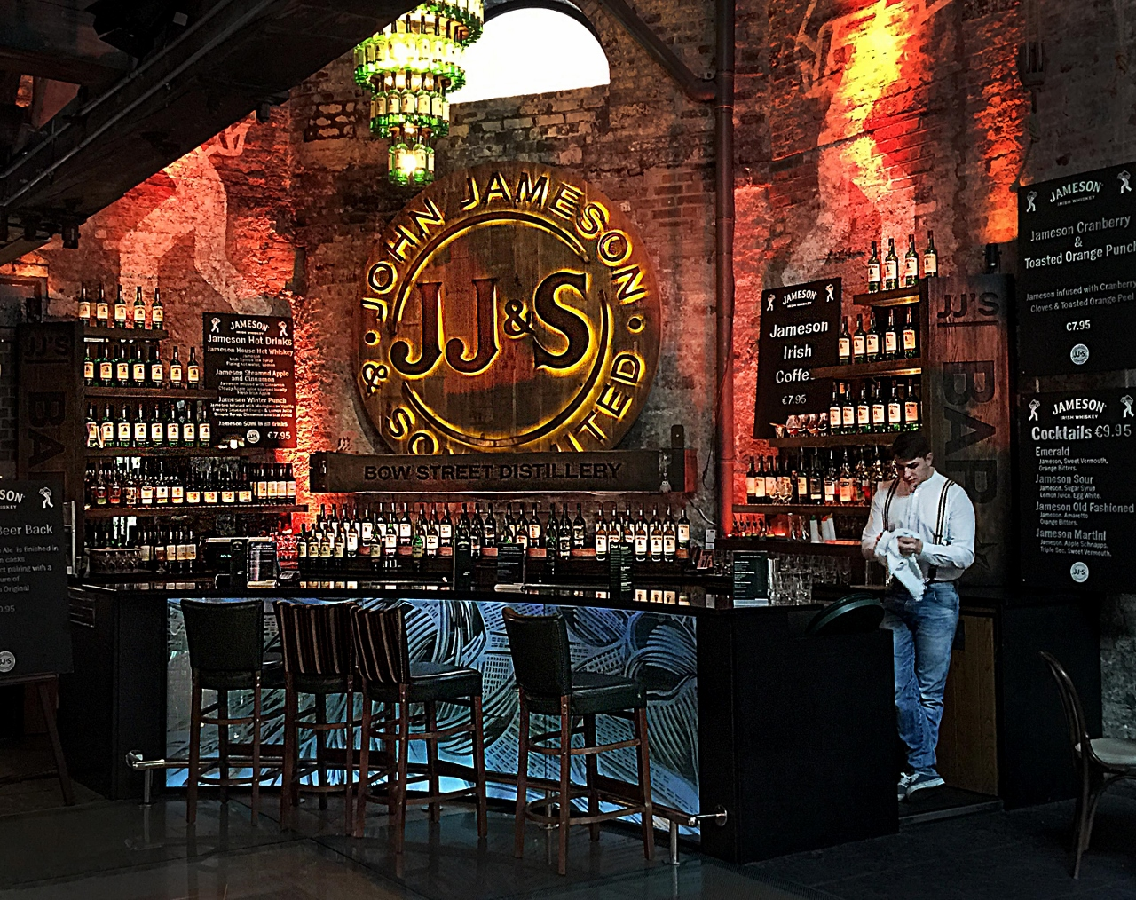 Old Jameson Whiskey Tasting tour, Dublin Ireland, traveling in Ireland