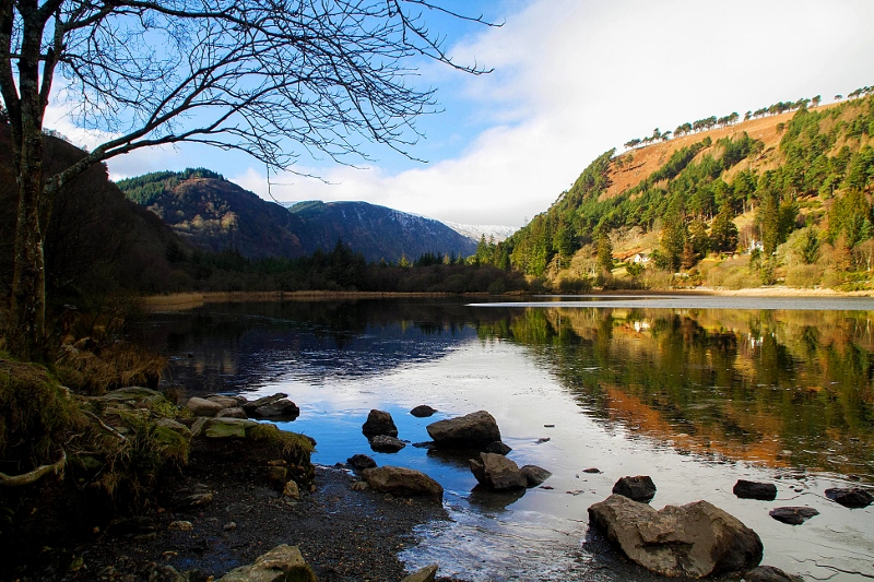 Glendalough Ireland Lower Lake