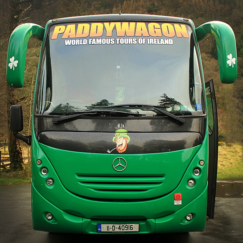Paddywagon Day Tours Bus