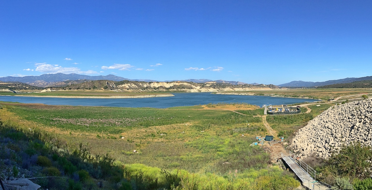 Drought effect on Cachuma Lake