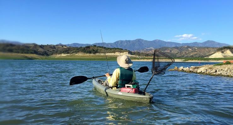 Kayaking Lake Cachuma