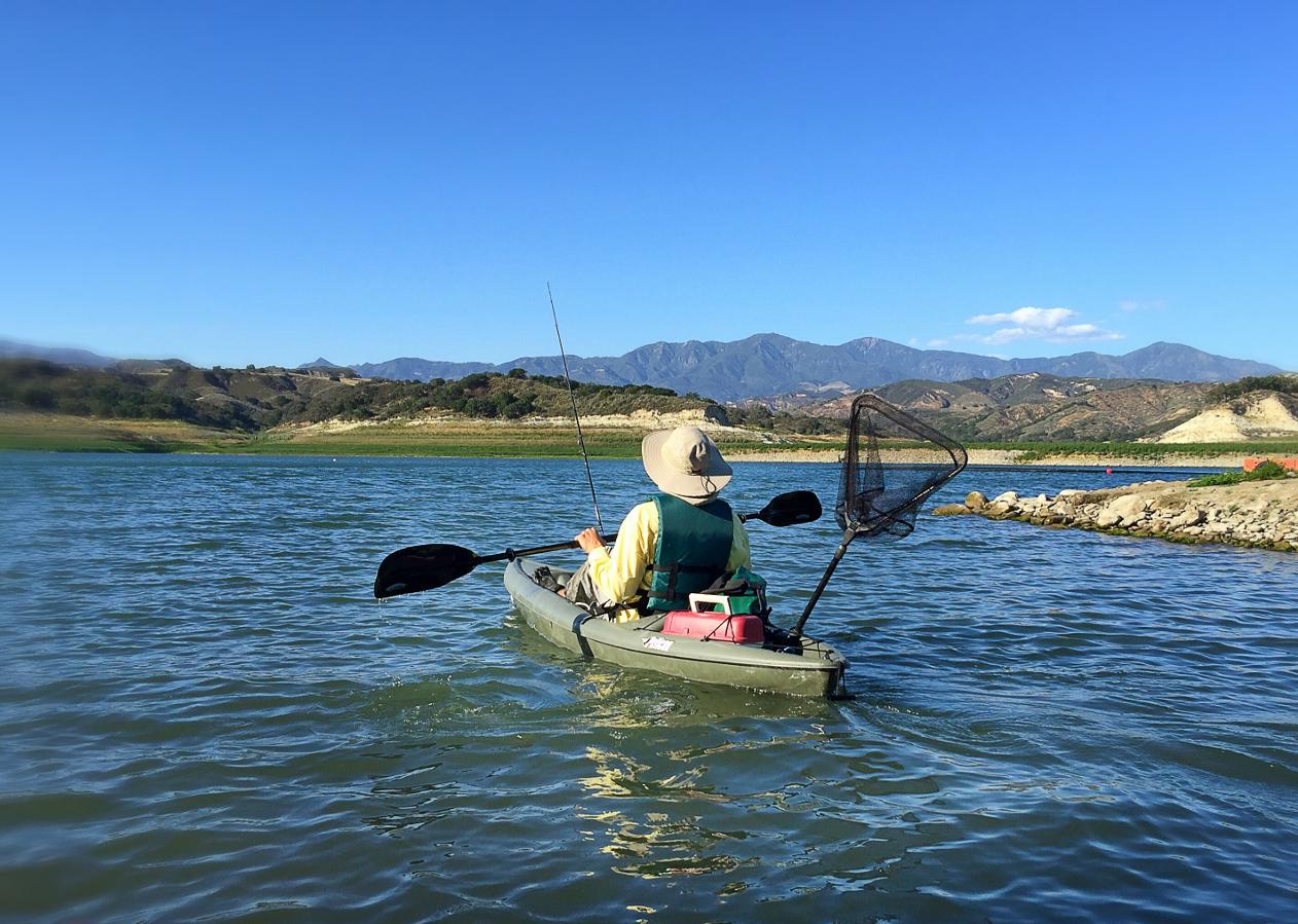 Cachuma Lake Kayaking
