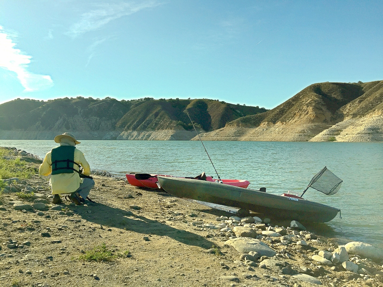Shore of Cachuma Lake