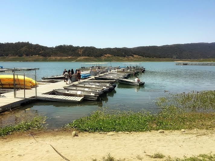Kayak and boat rentals at lake casitas recreation area