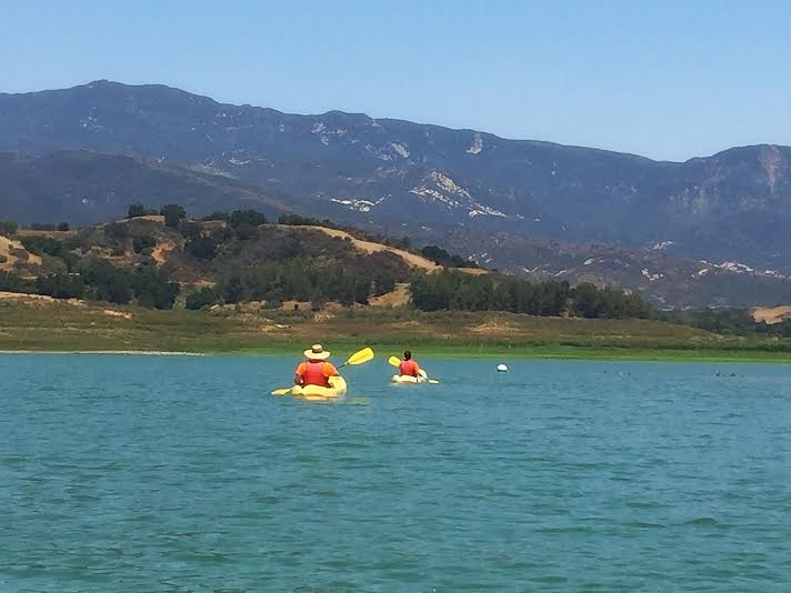 Lake Casitas recreation area kayaking