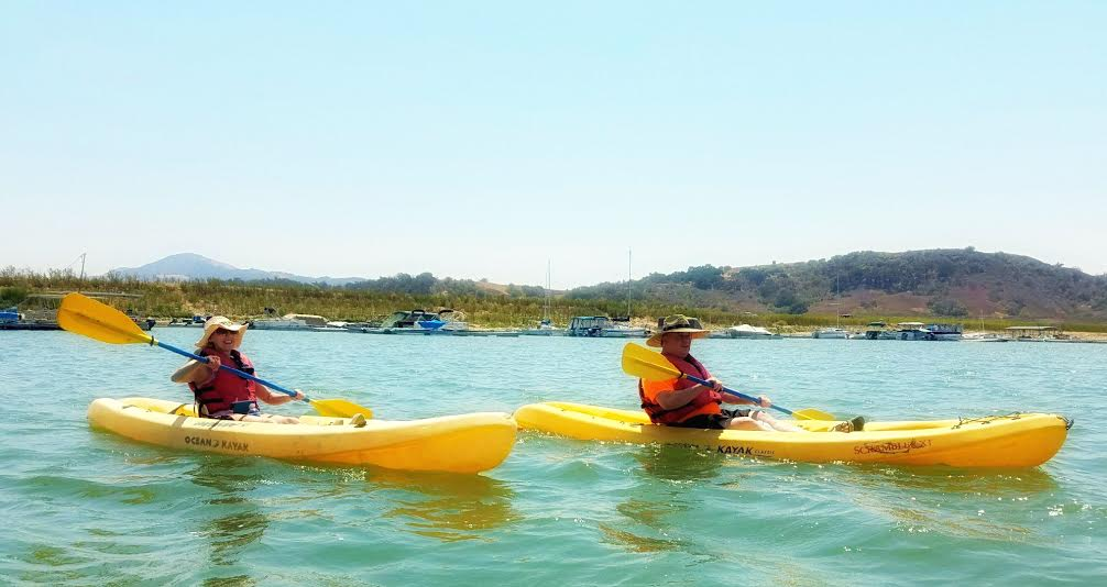 Casitas lake kayaking