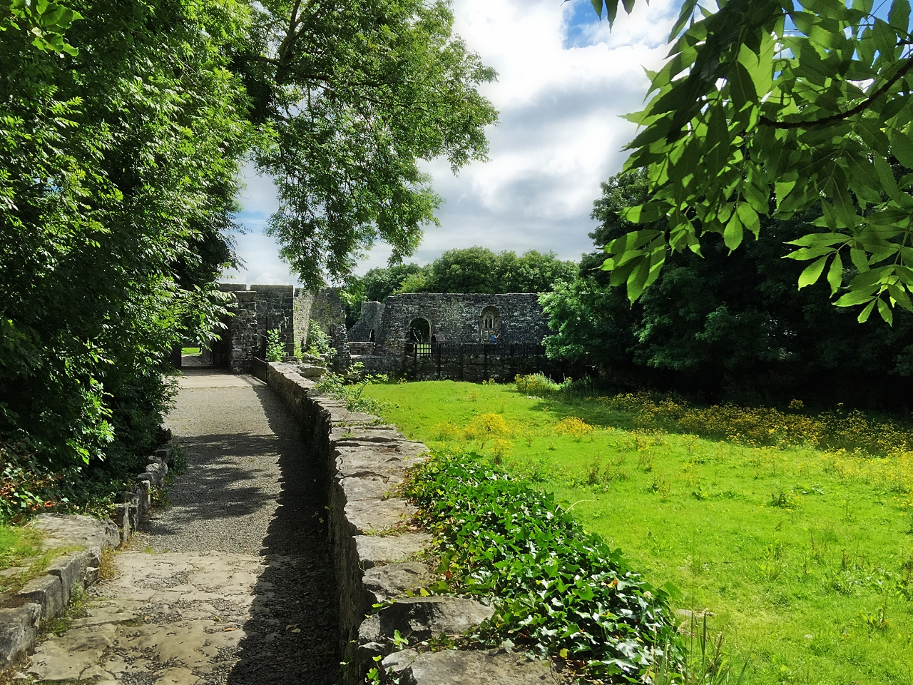 Aughnanure Castle in County Galway, Ireland