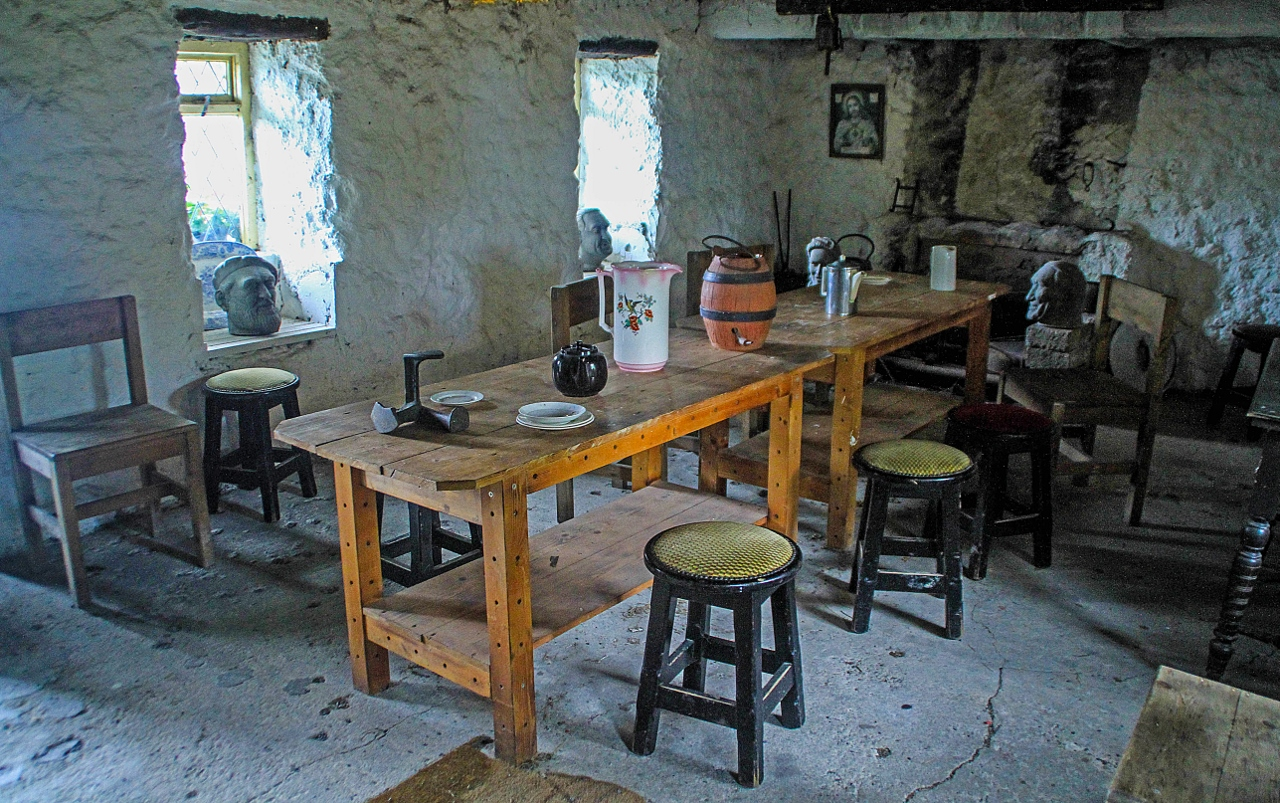 Inside the Replica Cottage of Quiet Man