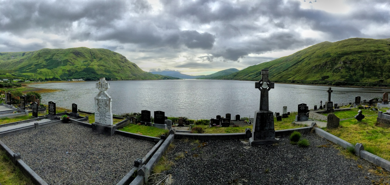 cemetery in Connemara
