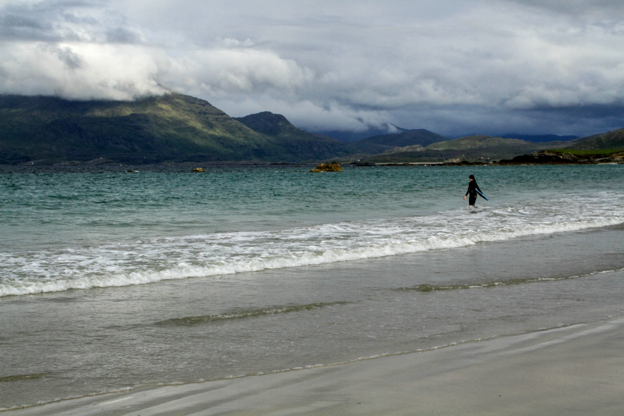 Connemara, Ireland Renvyle Beach