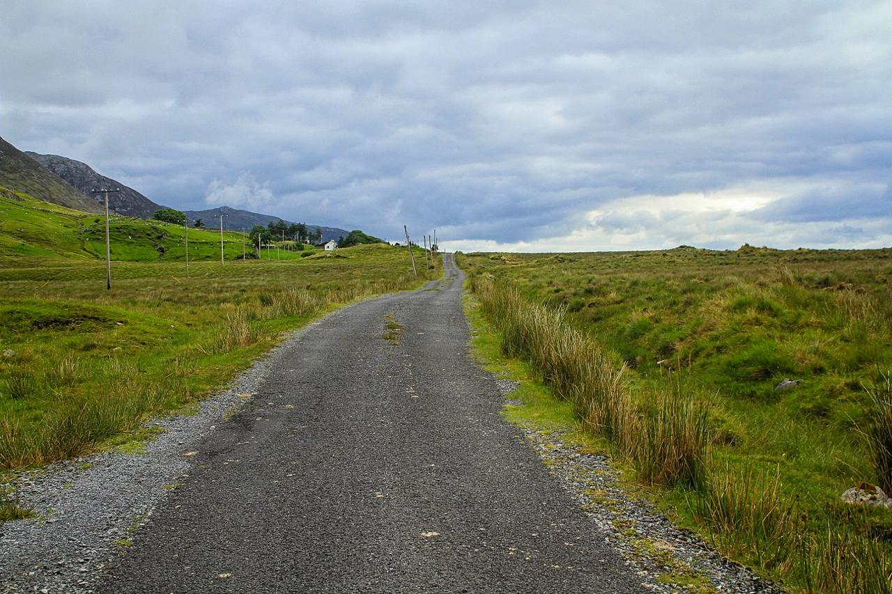 Road in Inagh Valley, Ireland