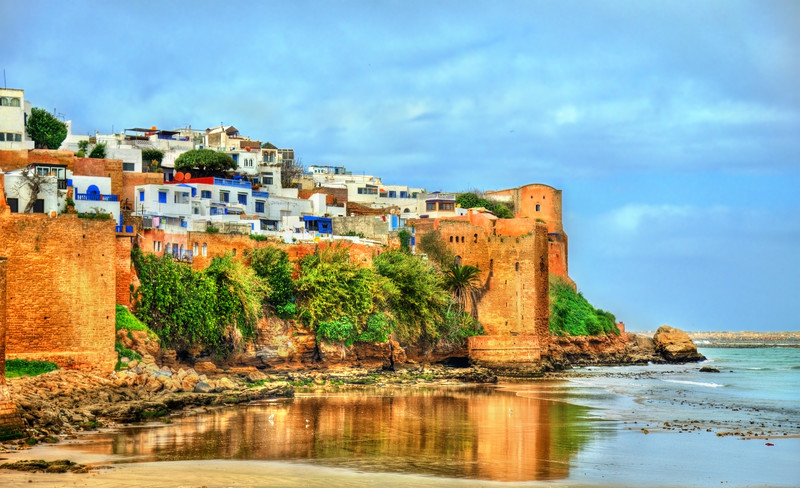 Kasbah of the Udayas in Rabat, the capital of Morocco