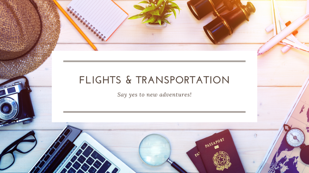 Flights & Transportation Resources