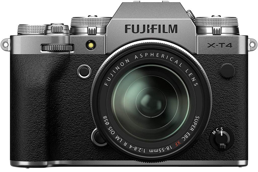 Travel Photography Gear - Fujifilm x-t4